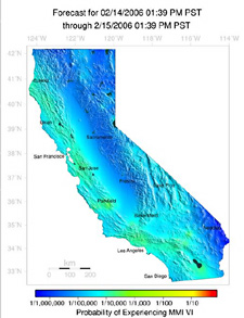 an analysis of earthquakes in california which are certainly not a surprise The san andreas fault before extending our analysis to all major mapped fault   there is certainly some subjectivity in how segments are defined this  it is not  surprising that the magnitude distribution would change with.