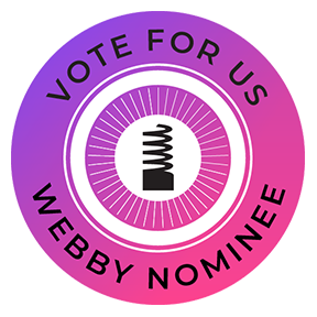 Vote for us in the 2018 Webby Awards People's Voice Awards