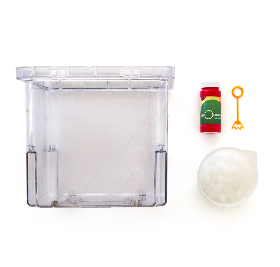 Bubble suspension chemistry fluids science activity tools and materials dry ice robcynllc Gallery
