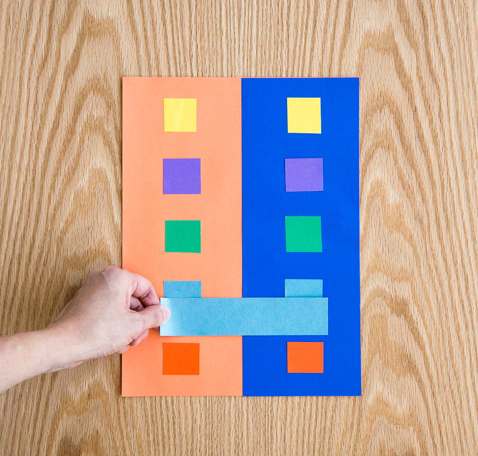 Colour shades activities - Science Activity That Demonstrates Color Perception Illusion