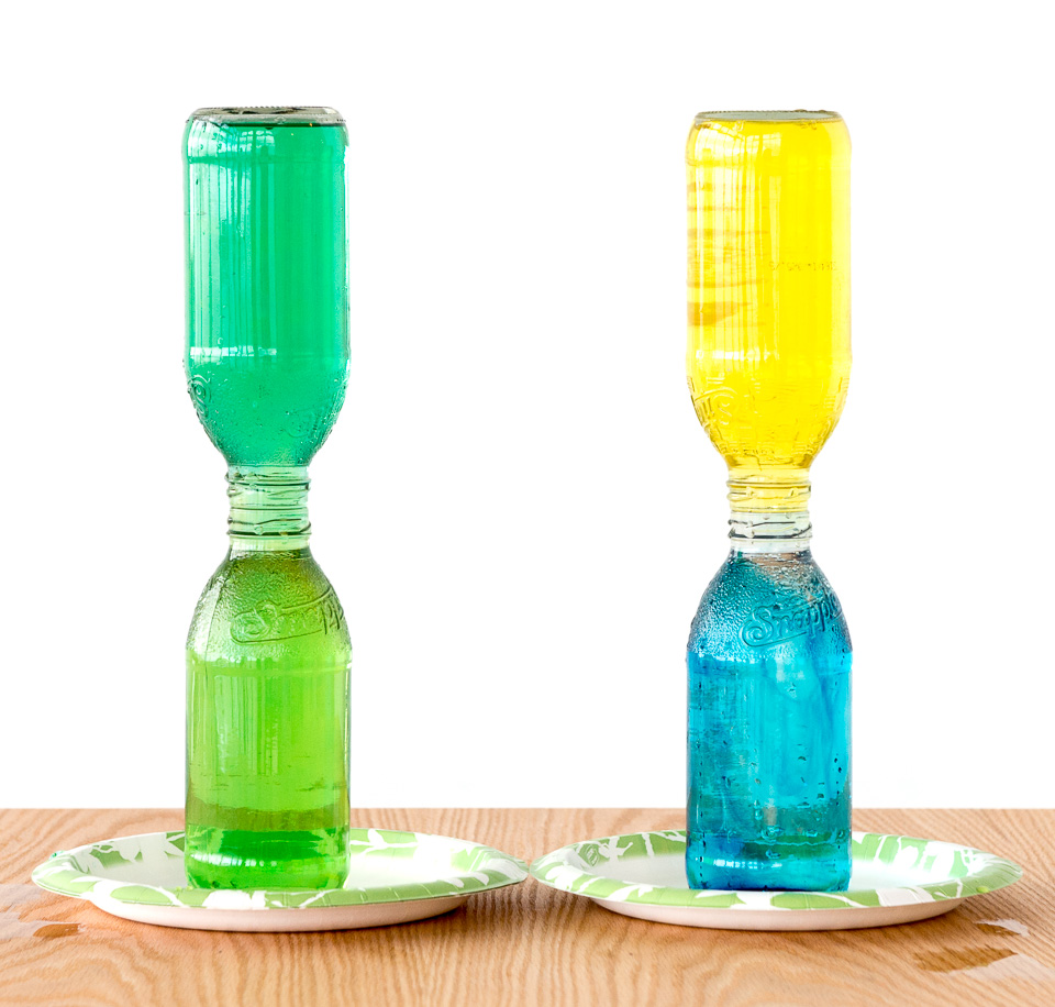 Inverted Bottles: Physics & Chemistry Science Activity ...