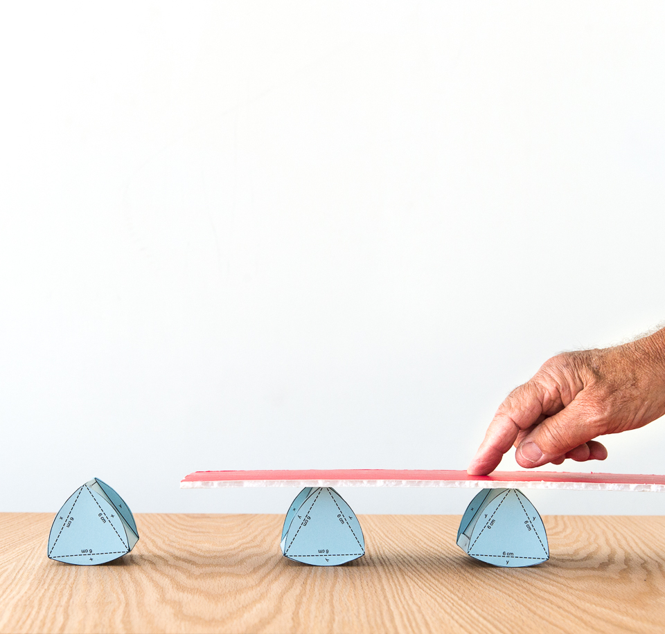 Science activity that investigates geometry of non-round rollers