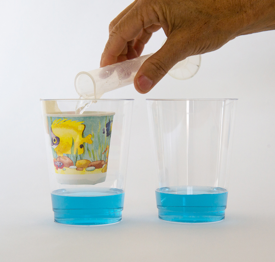Clear Plastic Cup Crafts