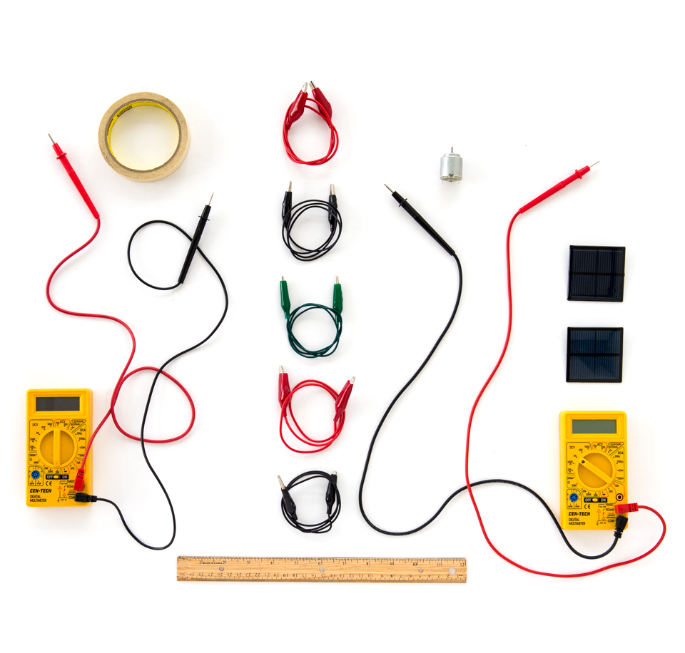 Output Of A Solar Cell Physics Engineering Science Activity Concept Series And Parallel Circuits For This Lab Tools Materials