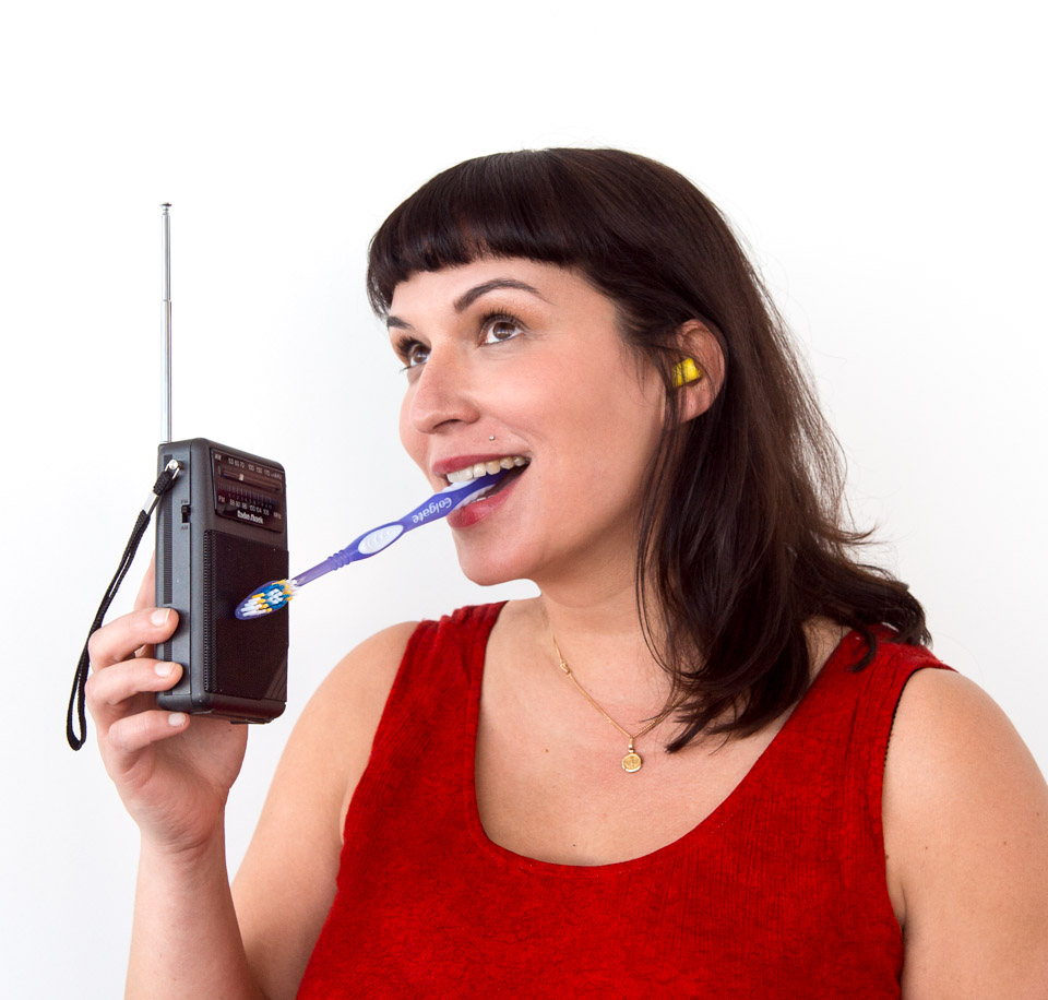 Science activity that transmits sounds through your body instead of the air