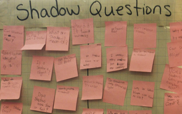 Science Writing A Tool For Learning Science And Developing  Investigation Questions About Shadows Grade Three Science Writing Can Be  Informal In Nature Here Students Have Written Their Questions About  Shadows On