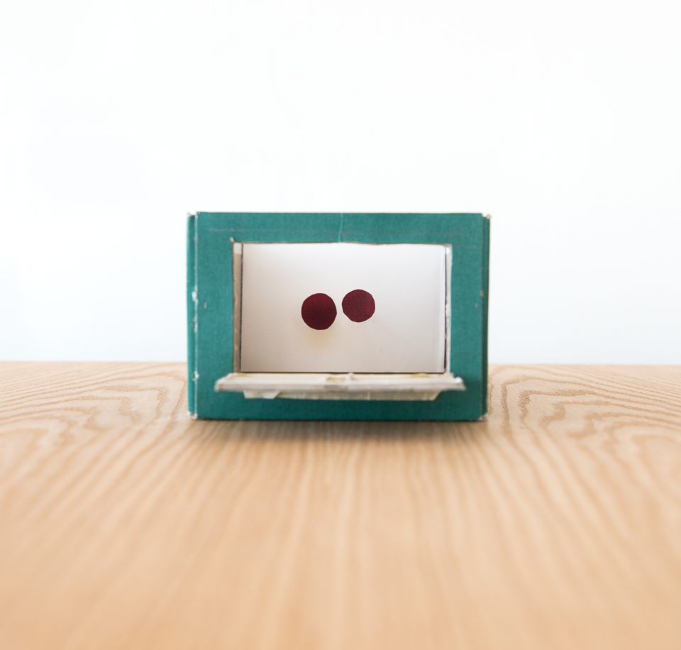 Science activity that demonstrates depth perception