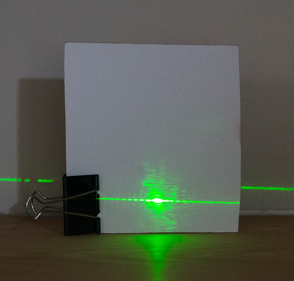 twoslit experiment light amp waves science activity