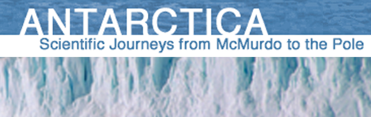 Origins: Antarctica - Scientific Journeys from McMurdo to the Pole
