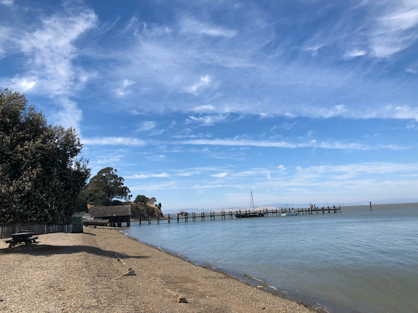 View from China Camp State Park in San Rafael, the historic Chinese-American shrimp-fishing village (Photo: Mary Miller/Exploratorium)