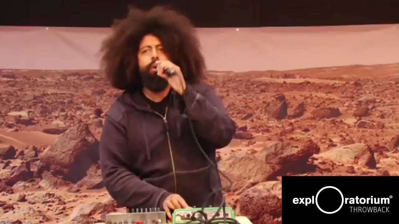 Throwback Thursday | Reggie Watts Riffing on Mars