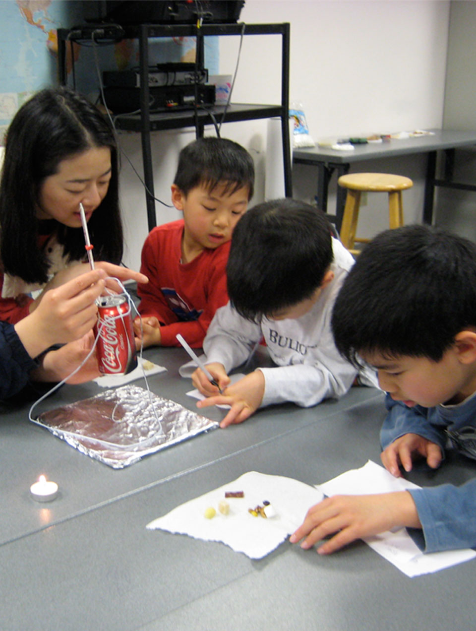 Exploratorium: Homeschool Science Workshops