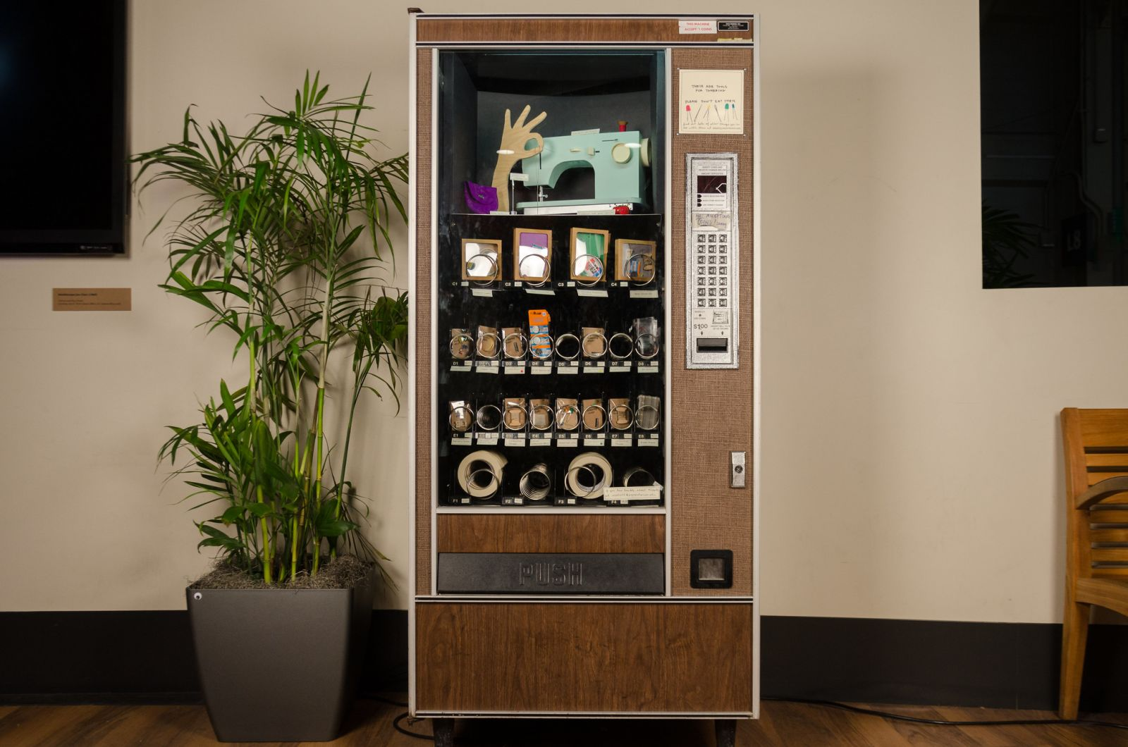 tinkering vending machine