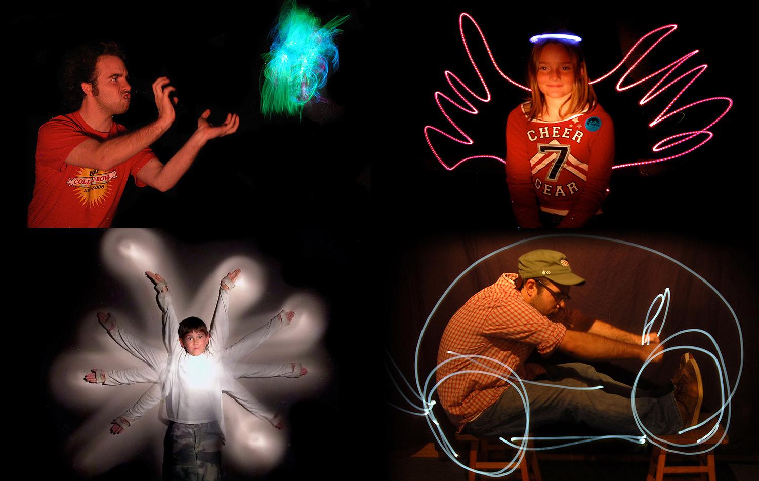 Tinkering projects – Light Painting