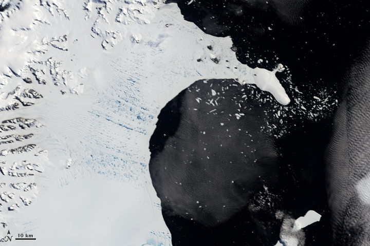 Larsen Ice Shelf January 31, 2002