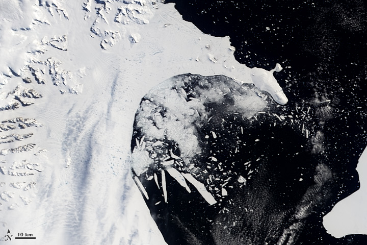 Larsen Ice Shelf February 23, 2002
