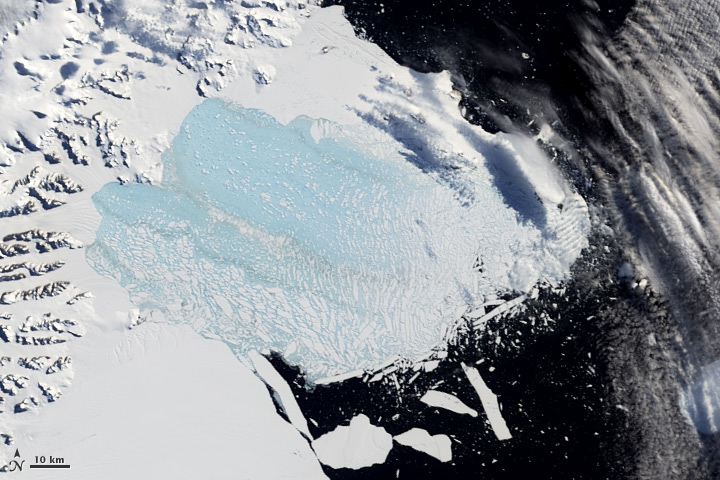 Larsen Ice Shelf March 7, 2002