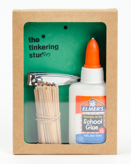 Toothpick sculpture starter kit
