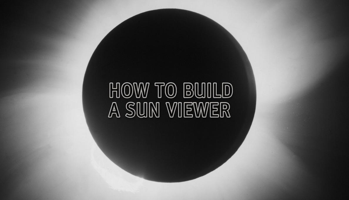 How to Build a Sun Viewer