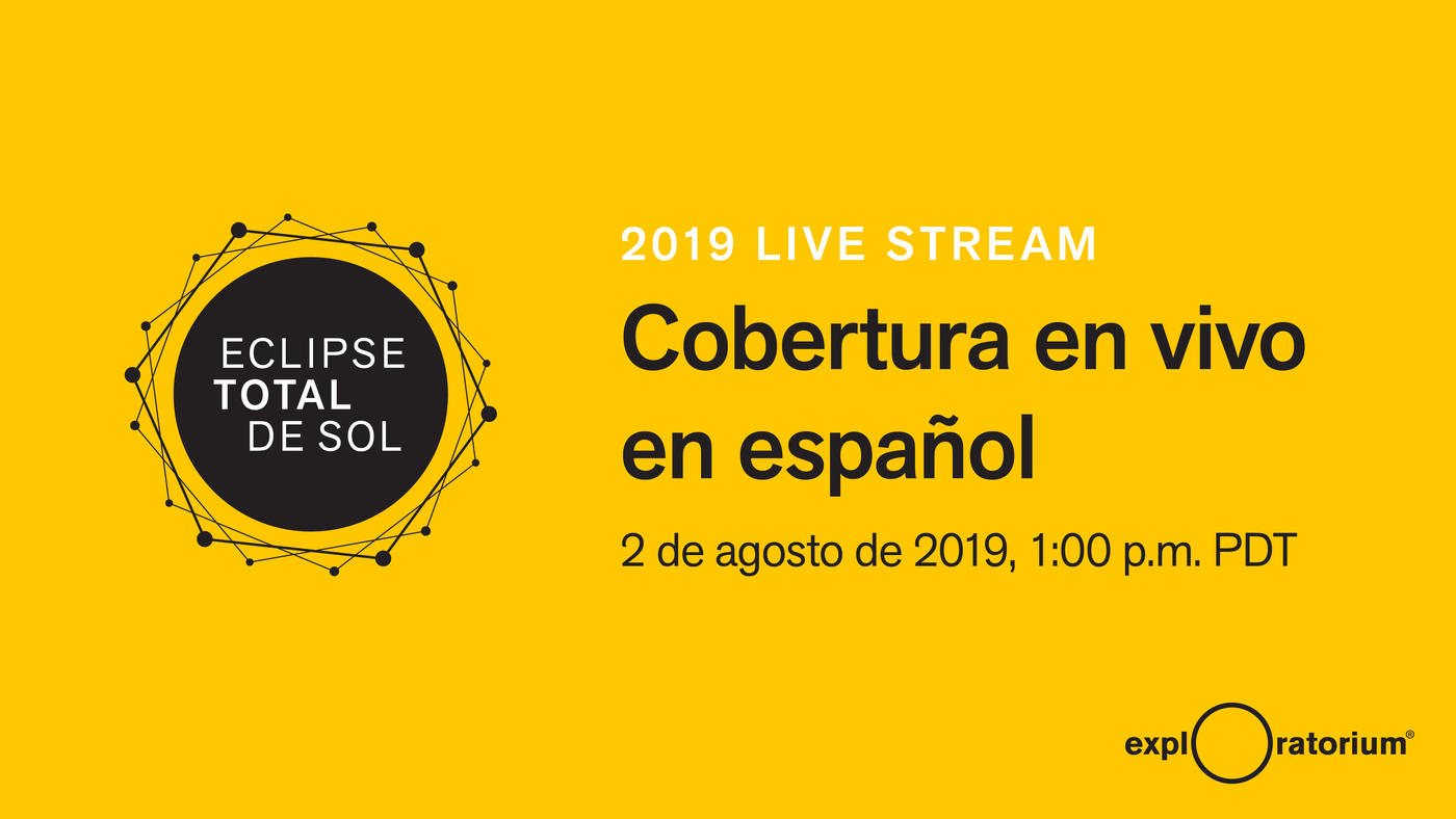 Total Solar Eclipse July 2019 - Live Stream From Chile