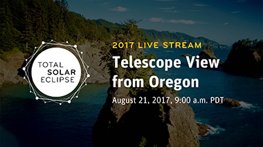 REPLAY | Total Solar Eclipse 2017: Telescope View from Oregon