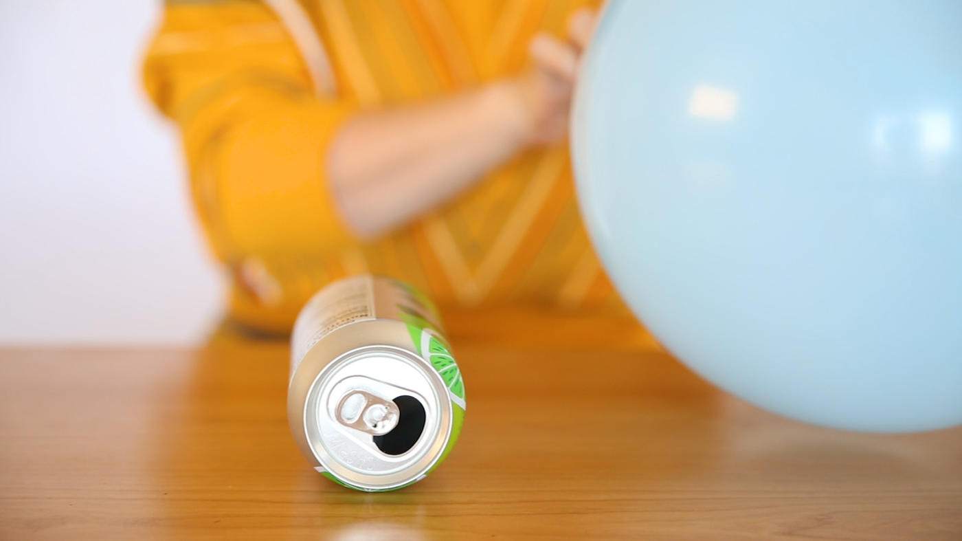 Rub a balloon on your head, then watch a soda can race across the floor or a table. As you observe the interplay between...