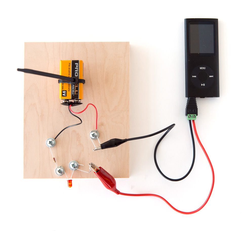 Learn Audio Transmission With Light