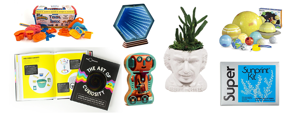 Holiday gift ideas curated by the Exploratorium