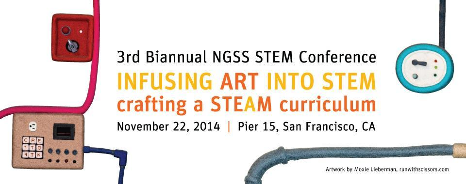 The Exploratorium's 3rd Biannual NGSS STEM Conference logo
