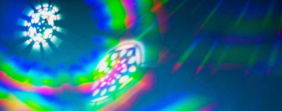 abstract colored light