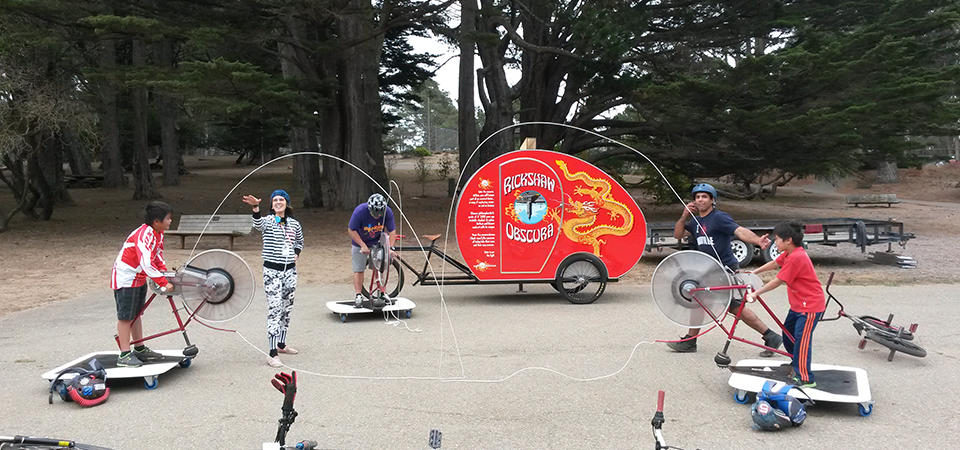 Mobile Exhibits at McLaren Park