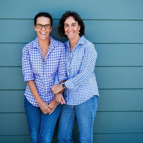Andrea and Amy Barish, Age: 58