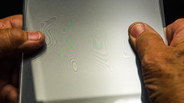 Science activity that demonstrates wave interference