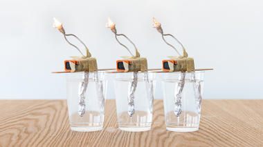 Science activity that demonstrates conductivity of solutions