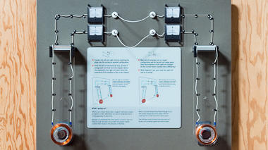 Science activity that shows how electricity and magnetism interact
