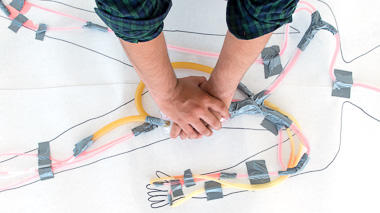 Science activity to design, build, and test a circulatory system