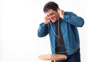 Science activity that produces musical sounds only you can hear