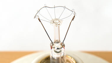 Science activity that explores the relationship between filament and flashlight bulb