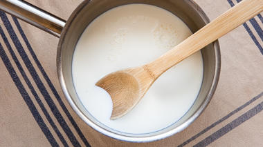 Science activity that explores how yogurt is made