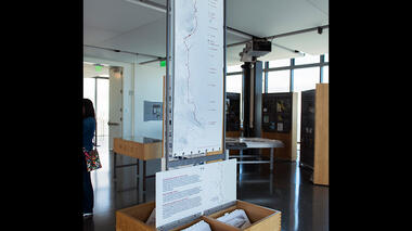 Bay Lexicon exhibit