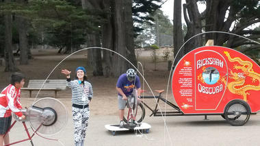 Exploratorium Mobile Exhibits at McLaren Park