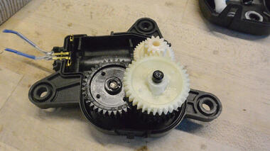 Slow moving motor dissection