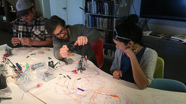 'LEGO Art Machines' with the TS Team