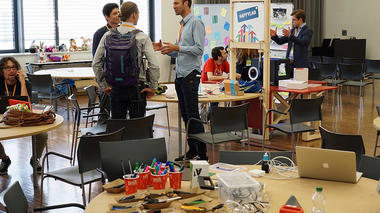 Making of the Ecsite 2016 Maker Space