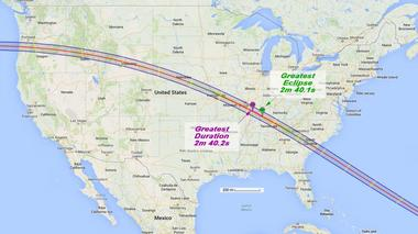 Where You Want to Be for the 2017 Total Solar Eclipse
