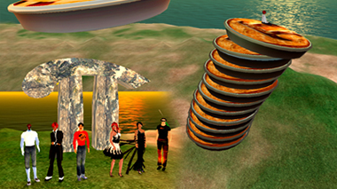 Pi Day March 14, 2013 in SL