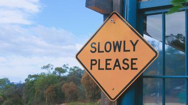 Slowing Down Your Thoughts