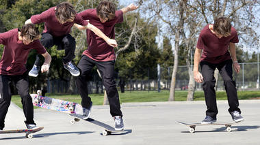 Frontside Forces and Fakie Flight