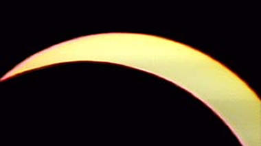 Total Solar Eclipse from Aruba: February 26, 1998