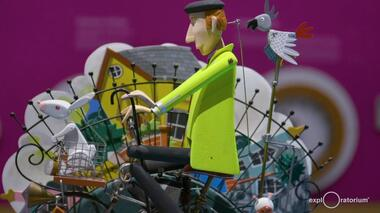 Curious Contraptions explores small, surreal worlds through fantastical, often amusing mechanical sculptures known as...